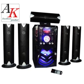 Hug AK-801 5.1 Home Theater Subwoofer Speaker with USB Slot and FMRadio