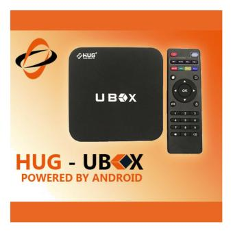 HUG Android Media Player 4K HD TV Box WiFi LAN Quad Core Adroid Marshmallow Smart Streaming (UBOX)