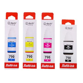 i-Tech Canon ink set for G1000 G2000 G3000 AND OTHER MORE (4 color) Price Philippines