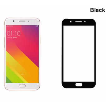 IDEAL1 Full HD 9H Tempered Glass Screen Protector For OPPO F1s /A59 (Black)