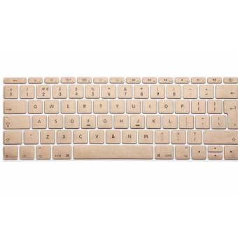 IDEAL1 Metal Color Keyboard Protector For Apple Mac-book 11.6 InchAir / Pro / Retina (Gold)-(Intl) with Free Mobile Silicone PhoneCase (color may vary) Price Philippines