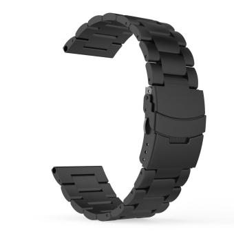 Universal Stainless Steel Metal Replacement Smart Watch Strap Bracelet for Fenix 3 / Fenix 3 HR Smart Watch(Black) - intl Price Philippines
