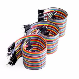 120pcs 30cm 2.54mm Male to Male, Female to Female, Male to Female Dupont Jumper Cables Price Philippines