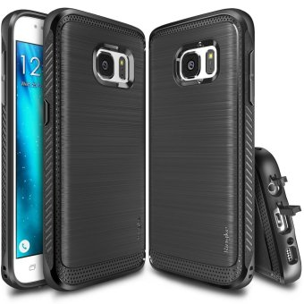 Harga Ringke Polyurethane Onyx Case for Samsung Galaxy S7 Edge (Black)