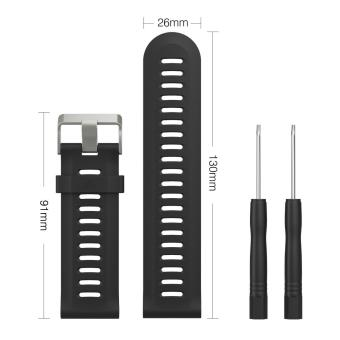 Soft Silicone Replacement Bands With Pin Removal Tools For Garmin Fenix 3 / Garmin Fenix 3 HR (No Tracker, Replacement Bands Only) - intl Price Philippines
