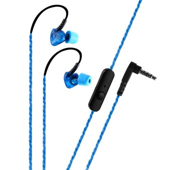 PLEXTONE S50 Sweat Proof Sports Earphones with Mic (Blue) - Intl Price Philippines