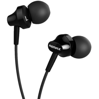 Harga REMAX Wired In-Ear Headset (Black)