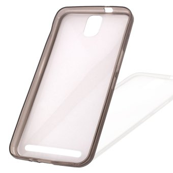 Great Deals TPU Thin Case for Flash Plus (Clear Black) Price Philippines