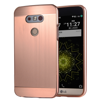 Moonmini Metal Frame Bumper Case for LG G5 ( Rose Gold) Price Philippines