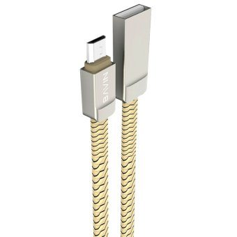 BAVIN Zinc Alloy Lightning Cable (Gold) Price Philippines