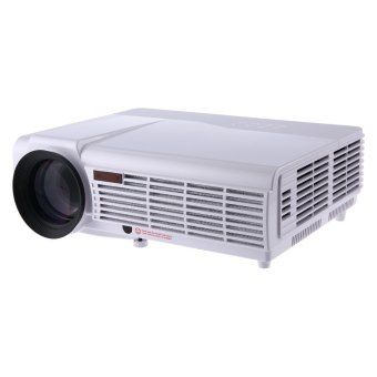 Harga LED - 96 Home Theater 3000 Lumens 1280 x 800 Pixels Multimedia HD LCD Projector