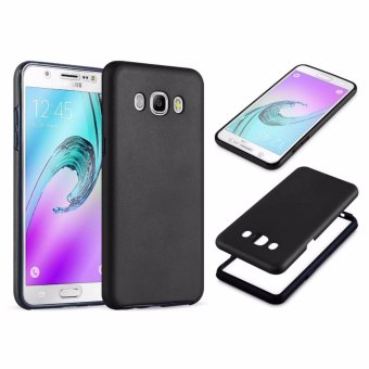 Harga Full Cover 360 Shockproof Case for Samsung Galaxy J7 2015 - Black