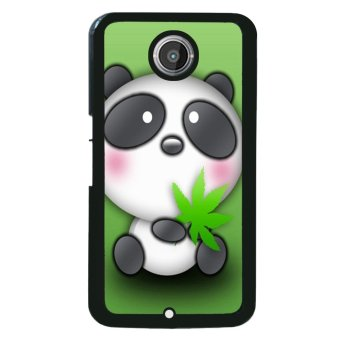 Harga Panda Cute Pattern Phone Case for Motorola Nexus 6 (Black)