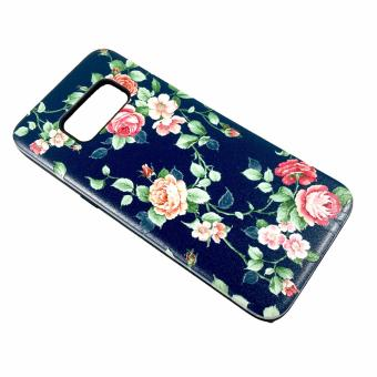 Harga DualPro Hard Shell PC Case with Floral Paint for Samsung Galaxy S8 Plus #2