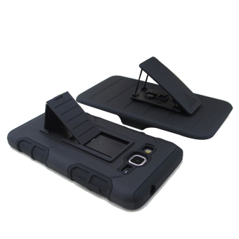 Moonmini Kickstand Shockproof Case for Samsung Galaxy Grand Prime G530 (Black) Price Philippines