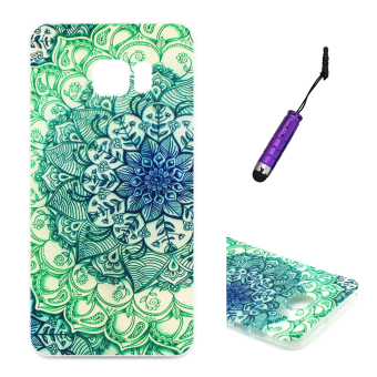 Moonmini Light TPU Soft Case for Samsung Galaxy S6 Edge Plus - Flower Price Philippines