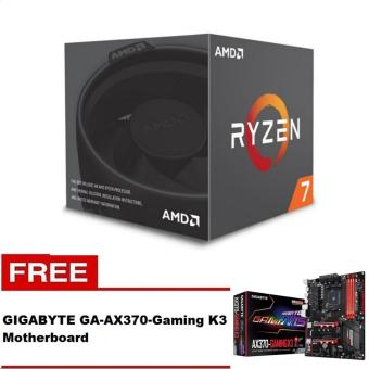 AMD Ryzen 7 1700X 8 Core AM4 Processor with FREE GIGABYTE GA-AX370-Gaming K3 ATX AM4 Motherboard  Price Philippines