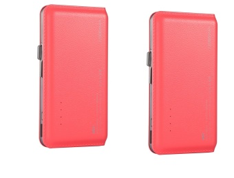 WST DP923 12000mAh Real Capacity Powerbank (Pink) set of 2 Price Philippines