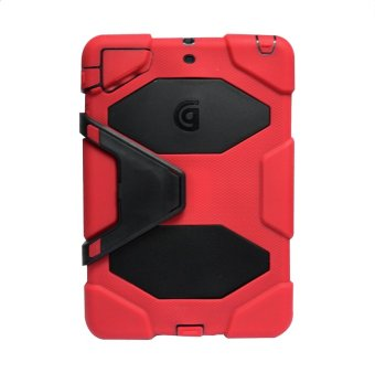 Harga Griffin Survivor Military Hard Case for iPad 2 / 3 / 4 (Red)