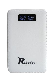 Harga Robotjoy Power Bank (5V 3.5A Dual Outputs - 20,000mAh High Capacity External Battery Pack)