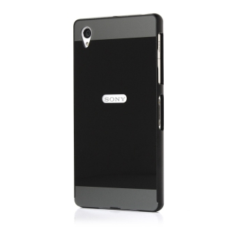 Moonmini Metal Bumper Frame Case for Sony Xperia Z1 (Black) Price Philippines