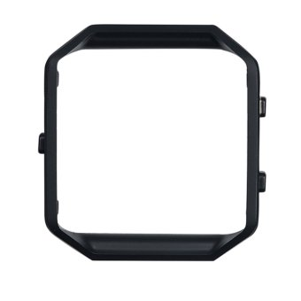Stainless Steel Metal Frame For Fitbit Blaze Smart Watch(Black) Price Philippines