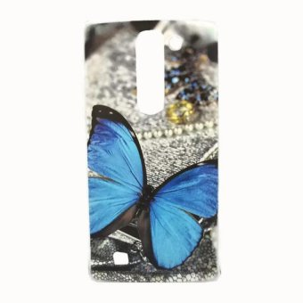 Blue Butterfly Design Hard Plastic Case for LG Magna (Multicolor) Price Philippines