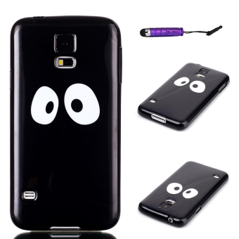 Moonmini TPU Soft Case for Samsung Galaxy S5 i9600 (Black) - Intl Price Philippines