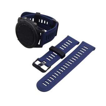 Silicone Watch Band Strap for Garmin Fenix3 or Fenix3 HR GPS Watch With Tools - intl Price Philippines