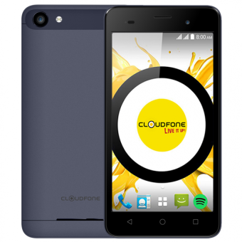 Cloudfone Thrill Boost 8GB (Grey) with Free Spotify Earphones and Back Cover Case Price Philippines