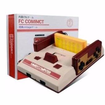 FC Compact Classic Family Computer with Built in 100 Games and 132 Games External Game Cartridge Price Philippines