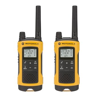 Harga Motorola Talkabout T400 Rechargeable Two-Way Radio Pair (Yellow)