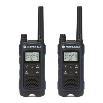 Harga Motorola Talkabout T460 Rechargeable Two-Way Radio Pair (Dark Blue)
