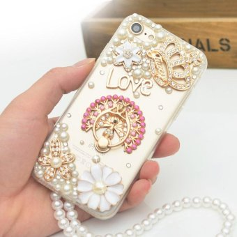 For iPhone 6 Plus iPhone 6s Plus Hard Phone Case Lady Phonecase Cover Fashion Cases With Ring Holder - intl Price Philippines