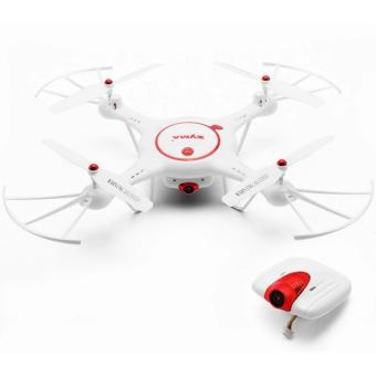 Harga Syma X5UC 2MP HD Camera 2.4GHz 4 CH 6-Axis Gyro Headless Mode Quadcopter Drone (White)