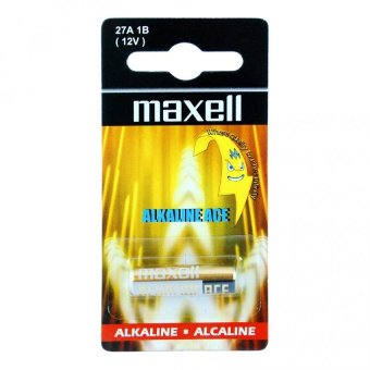 Harga Maxell LR27A Alkaline Battery Pack of 2