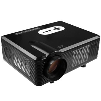 Harga Multi-function 3000LM 1280 x 800 Pixels LED Projector with Analog TV Interface - intl