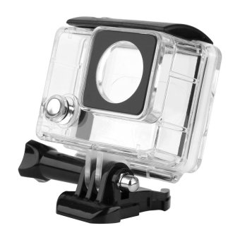Harga For Gopro 4 Accessories Transparent Waterproof Housing Case For Gopro Hero 4 3+ Go Pro Hero 4 Black Sliver Camera Hero4 Kits - intl