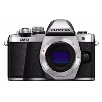 Harga Olympus OM-D E-M10 Mark II Mirrorless Digital Camera [Silver - Body only] - intl