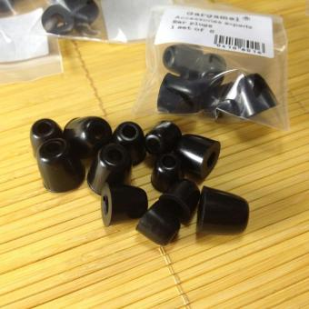 Silicone Ear Tips In Ear Earphone Memory Foam Eartips 3 Pairs S M L Black - intl Price Philippines