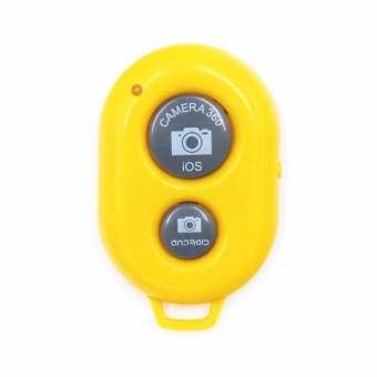 Wireless Camera Bluetooth Remote Shutter For IOS and Android Smartphone Tablet (Yellow) Price Philippines