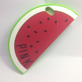 Harga Pink TPU Watermelon Soft Case for iPhone 5/5s
