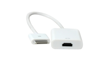 Harga Cable Monster C004 for Ipad Dock Connector to HDMI Adapter White