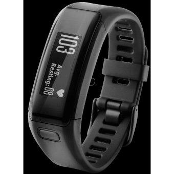 Harga Garmin Vivosmart HR Fitness Band (Free Screen Protector) - intl