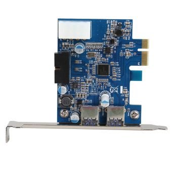 USB 3.0 2-port 19-pin Header PCI-E Card 4-pin IDE Power Connector (Intl) Price Philippines