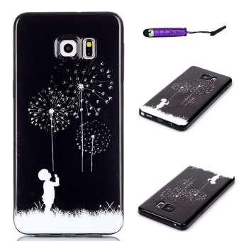 Moonmini TPU Dandelion Back Case for Samsung Galaxy S6 Edge Plus (Multicolor) Price Philippines