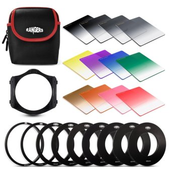 Rangers 12x Graduated Neutral Density ND + Color Filter Set for Cokin P RA111 - intl Price Philippines