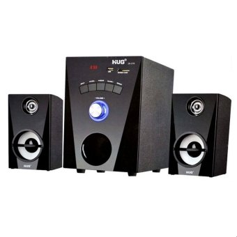 Harga Hug H28-2116 2.1 Channel Multimedia Speaker (Black)