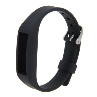 Harga Silicone Wristband Strap For Alta(Black)