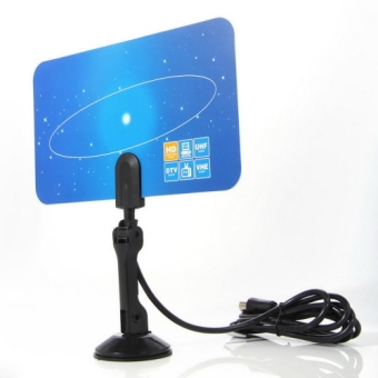 OH Digital Indoor HD TV HDTV DTV VHF UHF PC NB Flat High Gain Antenna 1080 i P Price Philippines